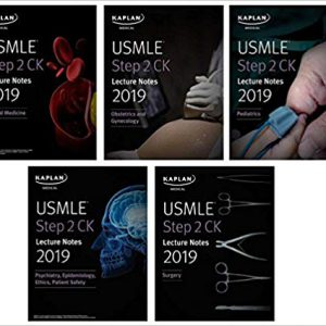 USMLE Step 2 CK Lecture Notes 2019 : 5-book Set ( دوره کامل )