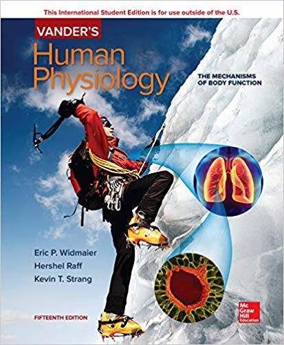 Vanders Human Physiology 15Th Edition