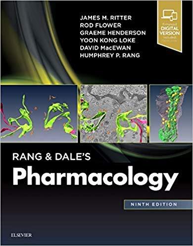 کتاب فارماکولوژی رنگ و دیل | چاپ تمام رنگی - جلد هارد