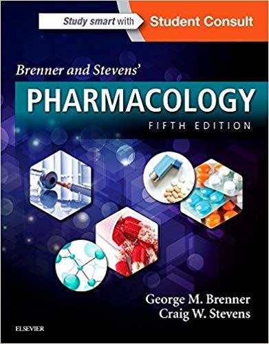 فارماکولوژی-برنر-۲۰۱۸-brenner-stevens-Pharmacology-اشراقیه-افست-۱۳۹۸