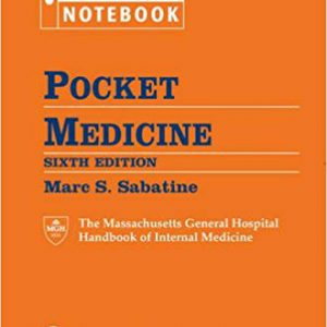 Pocket Medicine : The Massachusetts General Hospital Handbook Of Internal Pocket Medicine – 2017