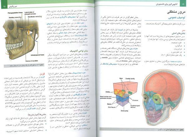 نمونه کتاب ترجمه آناتومی گری سر و گردن حسن زاده 2020
