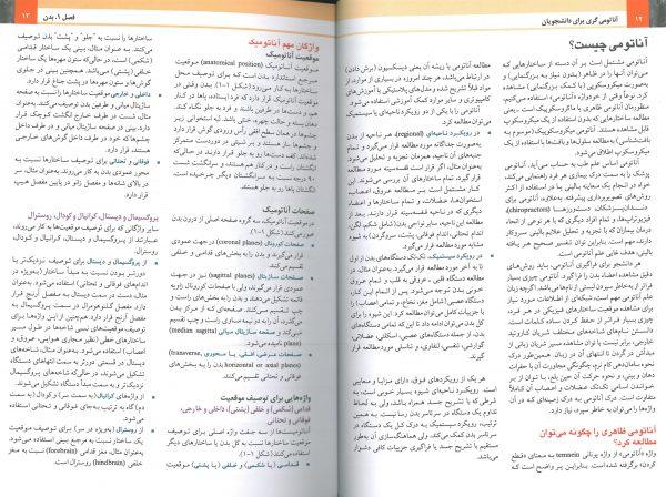 نمونه ترجمه فارسی کتاب آناتومی گری 2020