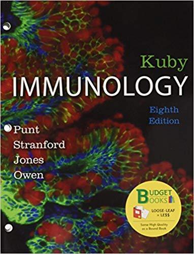 کتاب ایمونولوژی تالیف کوبای   Kuby Immunology - 2018 - ایمونولوژی کوبای