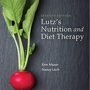 Lutz's Nutrition And Diet Therapy – 2019