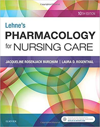 Pharmacology-lehne-nursing-2018-اشراقیه-افست-فارماکولوژی