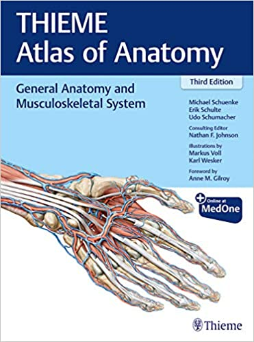 THIEME Atlas of Anatomy - General Anatomy and Musculoskeletal System - خرید کتاب اطلس آناتومی تیمه جلد اول -2020