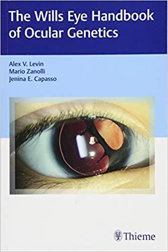 Will-eye-handbook-ocular-genetics-2018-اشراقیه-افست-ژنتیک-چشم
