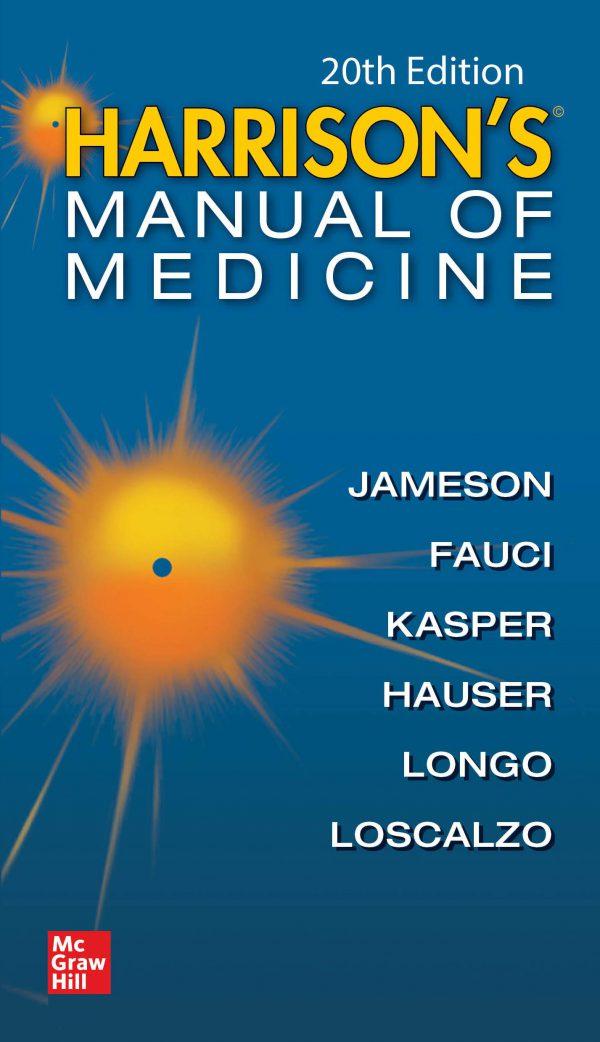 harrison-manual-medicine-2020-اشراقیه-کادوسه-افست-هندبوک-منوال-هاریسون-ارجینال-۱۳۹۸-کتاب