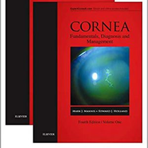 Cornea, 2-Volume Set 4th Edition
