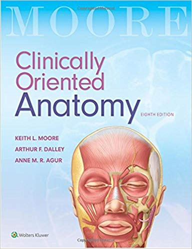Moore Clinically Oriented Anatomy - 2017 | آناتومی بالینی کلینیکال مور