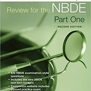 Mosby's Review For The NBDE Part I – 2014
