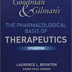 Goodman And Gilman's The Pharmacological Basis Of Therapeutics –  2018 – گودمن گیلمن