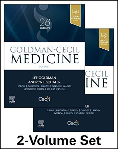 سیسیل گلدمن - Goldman-Cecil Medicine, 3-Volume Set - 2020