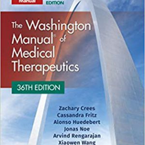 The Washington Manual Of Medical Therapeutics – 2019 – هندبوک داخلی واشنگتن