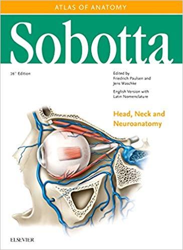 کتاب اطلس آناتومی زوبوتا - سر و گردن