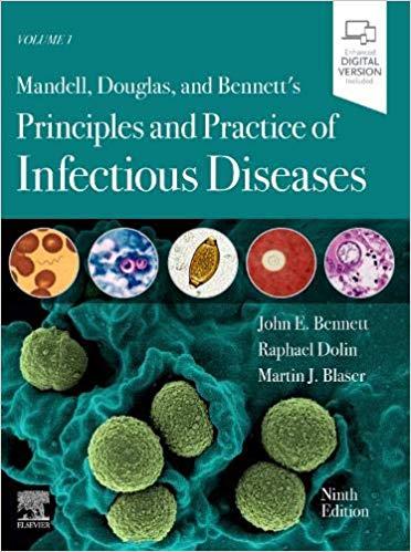 Mandell Infectious disease 2020 - کتاب عفونی مندل افست تمام رنگی