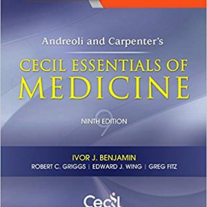 Cecil Essentials Of Medicine – 9th Edition – مبانی طب داخلی سیسیل