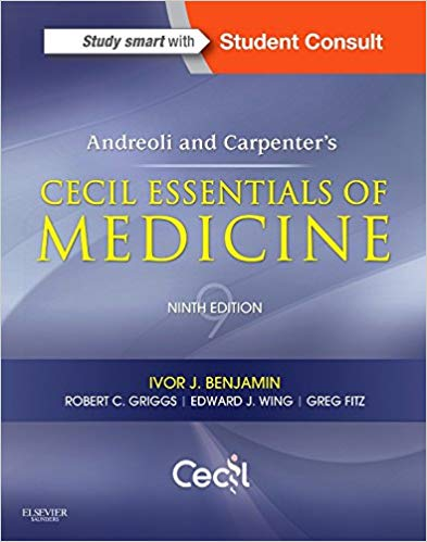 Cecil Essentials of Medicine - 9th Edition - مبانی طب داخلی سیسیل