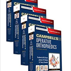 Campbell's Operative Orthopaedics 4 Vol Set – 2017 – کتاب ارتوپدی کمپل