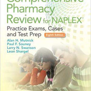 Comprehensive Pharmacy Review For NAPLEX: Practice Exams – شارگل