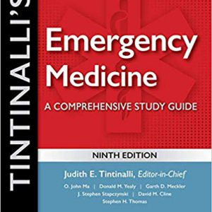 Tintinalli's Emergency Medicine: A Comprehensive Study Guide – 2020