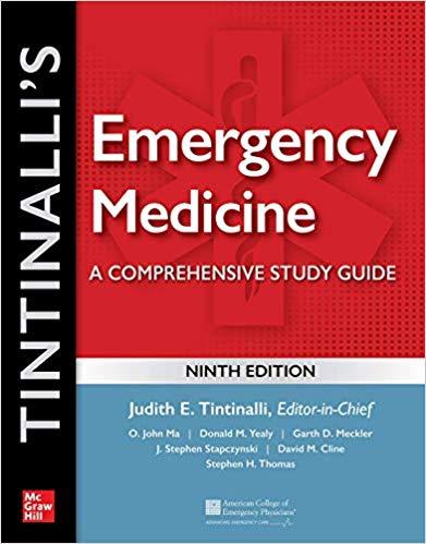 کتاب اورژانس - طب اورژانس - تینتینالی Tintinalli Emergency medicine