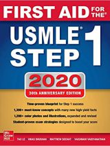 پیش فروش – First Aid For The USMLE Step 1 –  2020