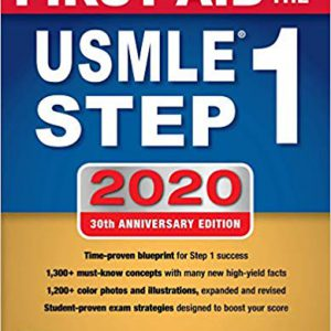 First Aid For The USMLE Step 1 –  2020