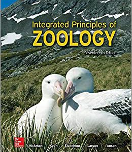 Integrated Principles Of Zoology – 2017