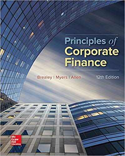 Principles of Corporate Finance 2016