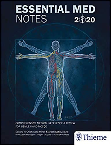 Essential Med Notes 2020: Comprehensive Medical Reference & Review for USMLE II and تورنتو نوتز 2020 Toronto notes 36th Edition
