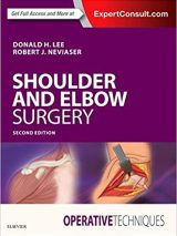 Operative Techniques: Shoulder And Elbow Surgery 2018