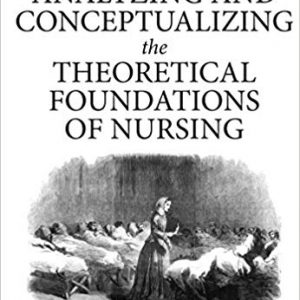 Analyzing And Conceptualizing The Theoretical Foundations Of Nursing 2017
