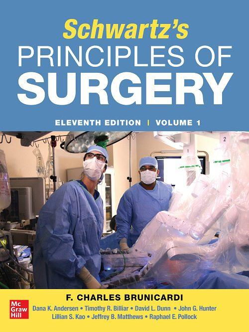 خرید کتاب اصلی اصول جراحی شوارتز 2019