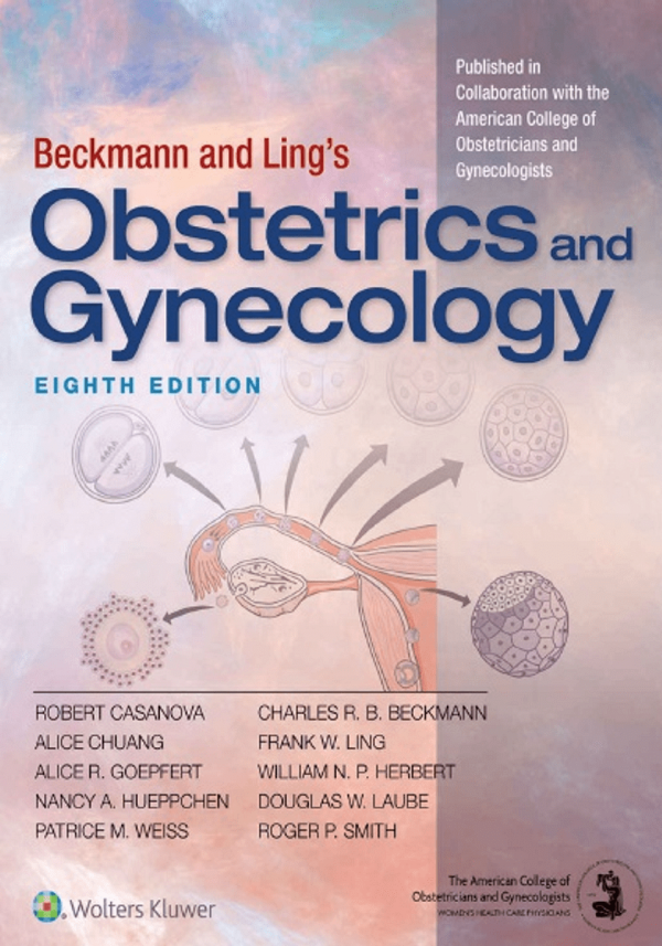 کتاب زنان بکمن و لینگز -Beckmann and Ling's Obstetrics and Gynecology - زنان و زایمان 2018 بکمن