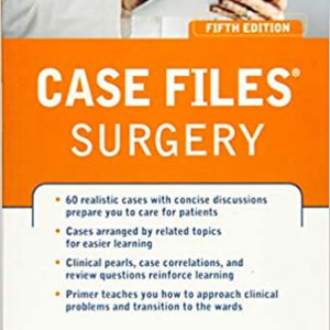 Case Files Surgery, Fifth Edition – 2017
