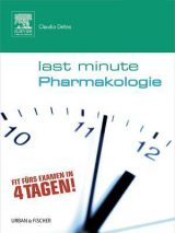 Last Minute Pharmakologie 2018