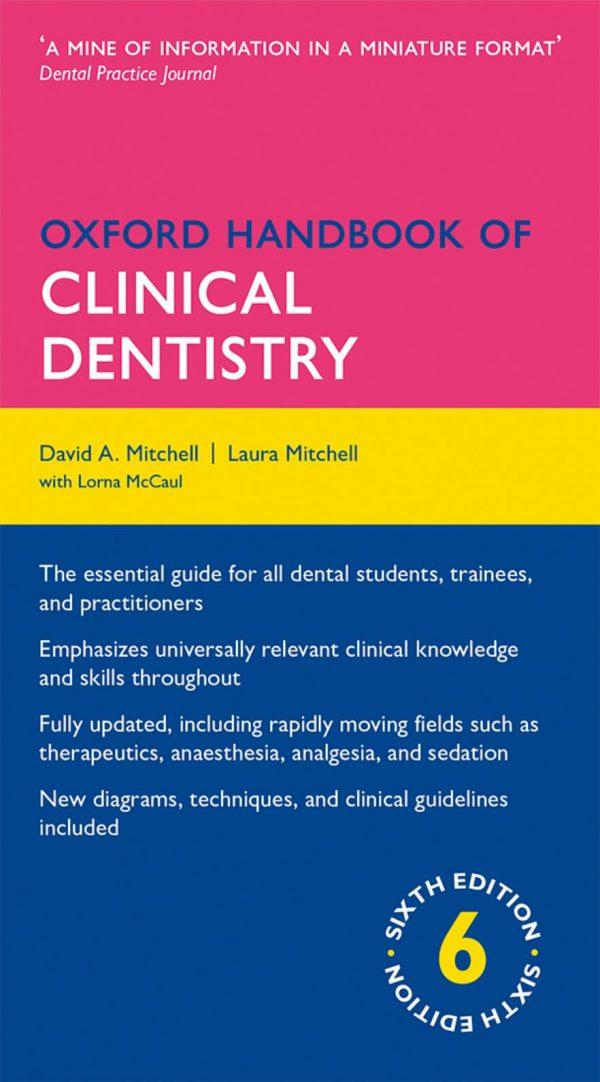 Oxford Handbook of Clinical Dentistry 2015 - کتاب دندانپزشکی آکسفورد