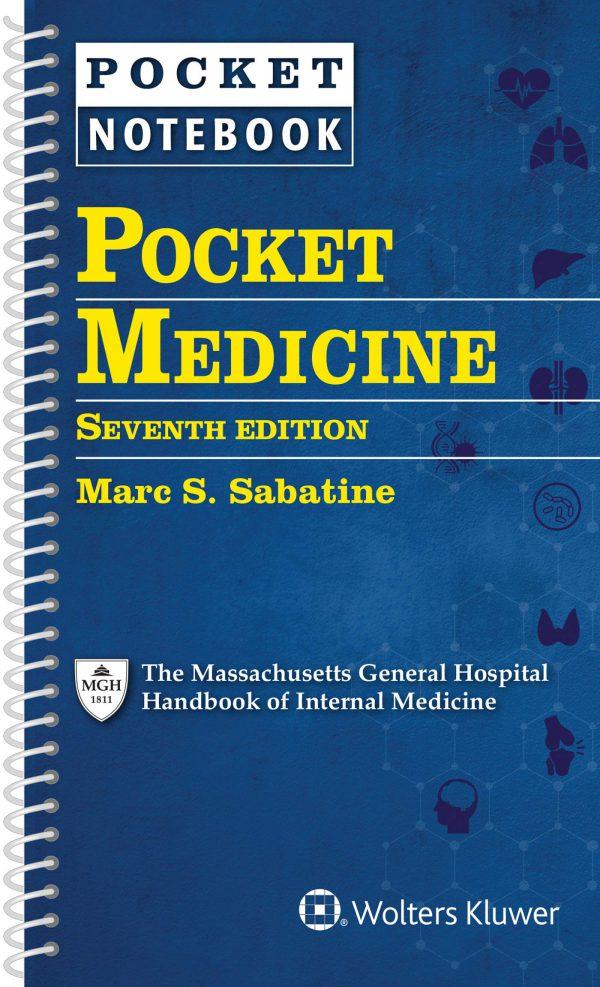 Pocket Medicine - The Massachusetts General Hospital Handbook of Internal Medicine 2020 خرید کتاب ماساچوست داخلی نشر اشراقیه