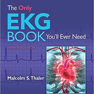 The Only EKG Book You'll Ever Need – 2019 – تنها کتاب EKG
