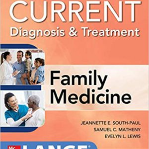 CURRENT Diagnosis & Treatment In Family Medicine 2020