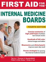 First Aid For The Internal Medicine Boards – 4th Edition – 2018