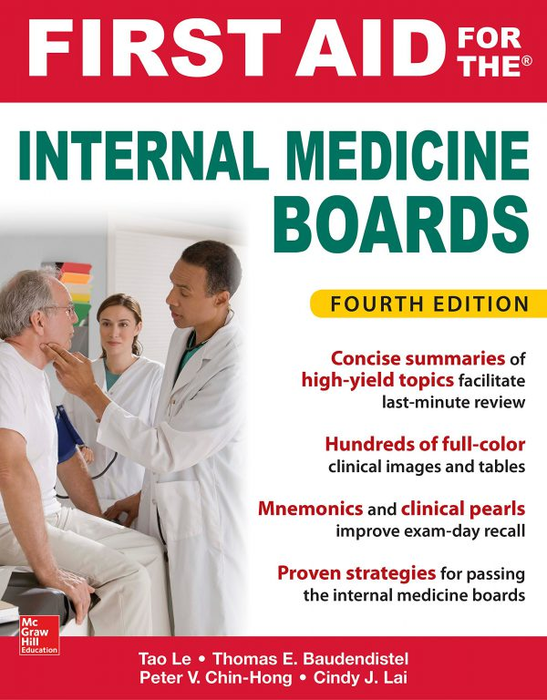 First Aid for the Internal Medicine Boards - 4th Edition - 2018 - خرید کتاب فرست اید