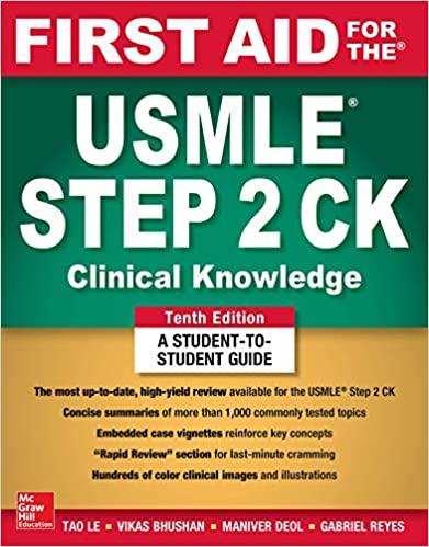 First Aid for the USMLE Step 2 CK - 2019 - خرید کتاب کلینیکال نالج است 2 - فرست اید