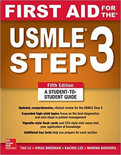 First Aid for the USMLE Step 3 - 2018 خرید کتاب افست کاپلان نشر اشراقیه