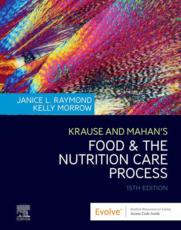خرید کتاب افست تغذیه کراوس 2020 - Krause and Mahan's Food & the Nutrition Care Process 15th Edition - تغذیه کراوس