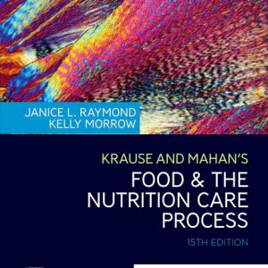 Krause And Mahan's Food & The Nutrition Care Process 15th Edition – تغذیه کراوس ۲۰۲۰