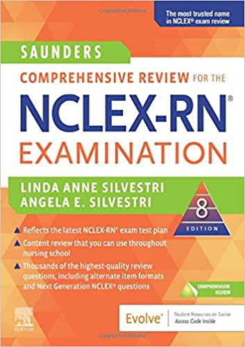 Saunders Comprehensive Review for the NCLEX-RN Examination - 2020 - نشر اشراقیه - کتاب پرستاری آزمون RN