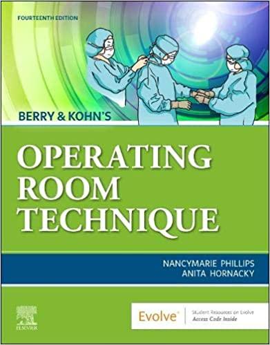 | Berry & Kohn's Operating Room Technique | Berry & Kohn's Operating Room Technique | تکنیک های اتاق عمل بری کهن - 2020 |